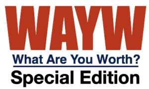 what are you worth special edition logo